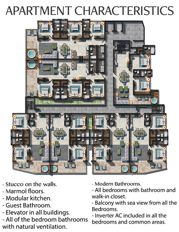 Apartamentos Regatta Blue Bay